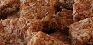 Crunchies — Traditional South African Oatmeal Cookie Bars