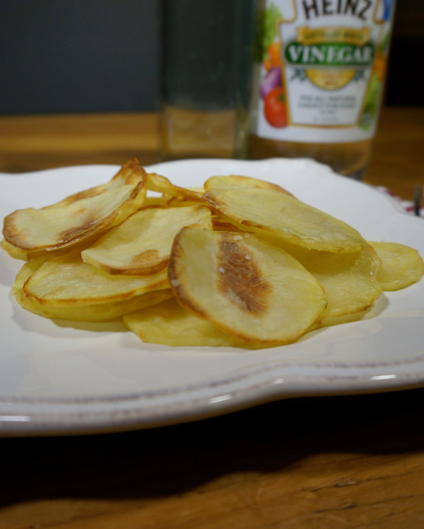 Fat Free Potato Chips - OrnaBakes