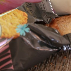 Cosomi Salty Sweet Cookie-Crackers, by Orion