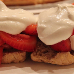 Delectable Strawberry Shortcake