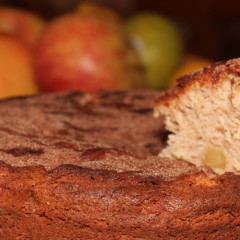 Low Fat Cinnamon Apple Cake