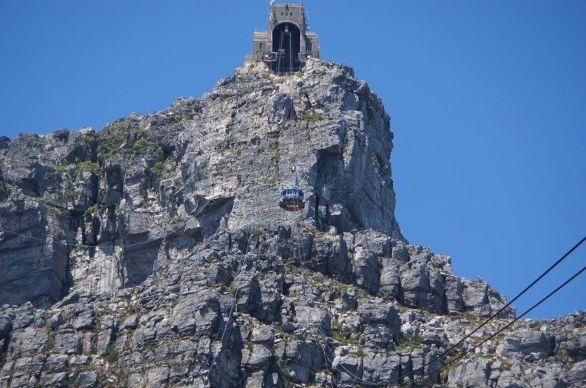 Cable Car on Table Mountain