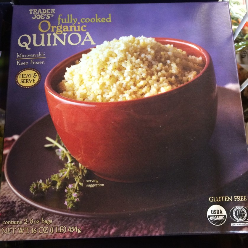 Trader Joe's Fully Cooked Quinoa