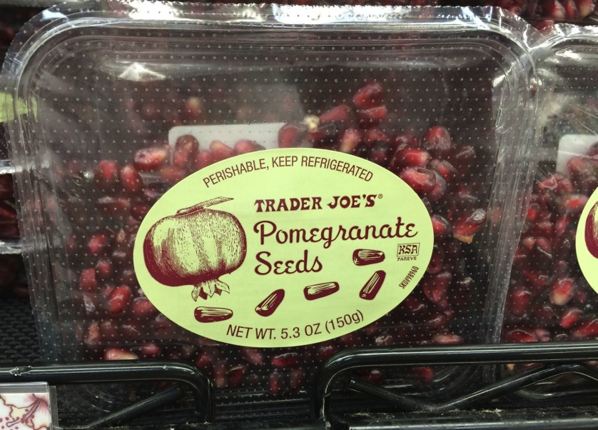 Trader Joe's Pomegranate Seeds