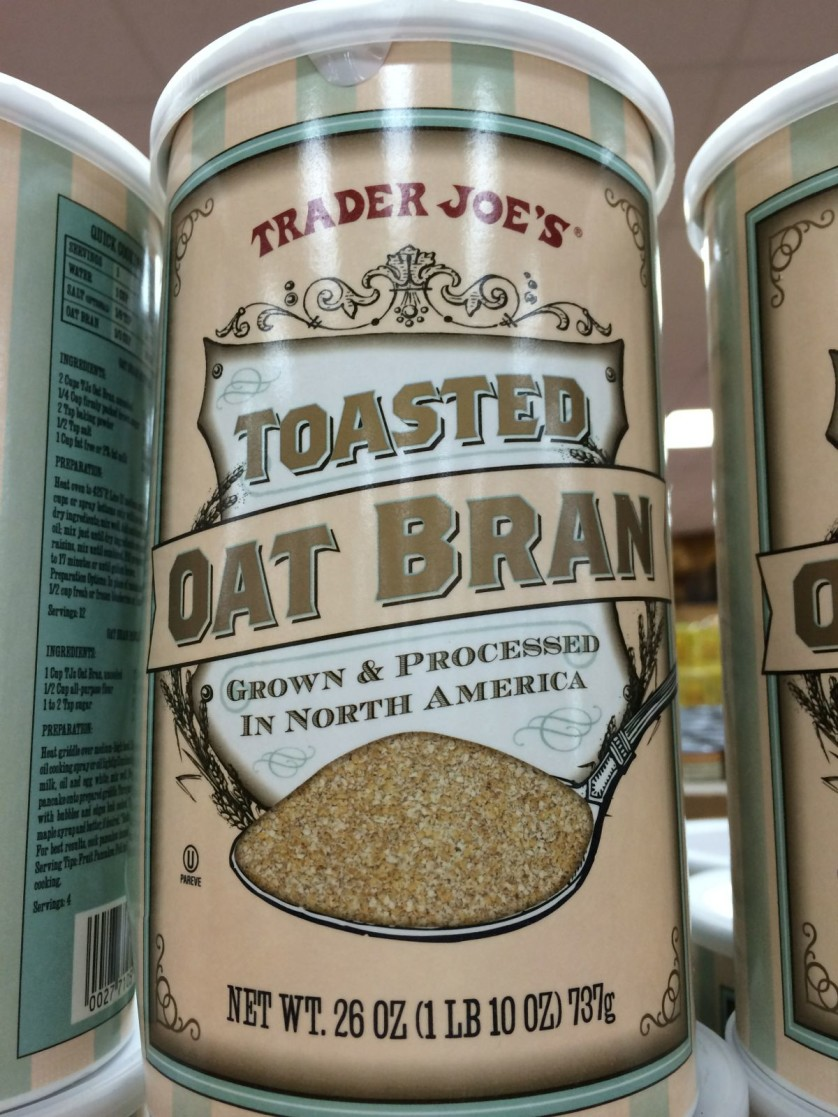 Trader Joes Toasted Oat Bran