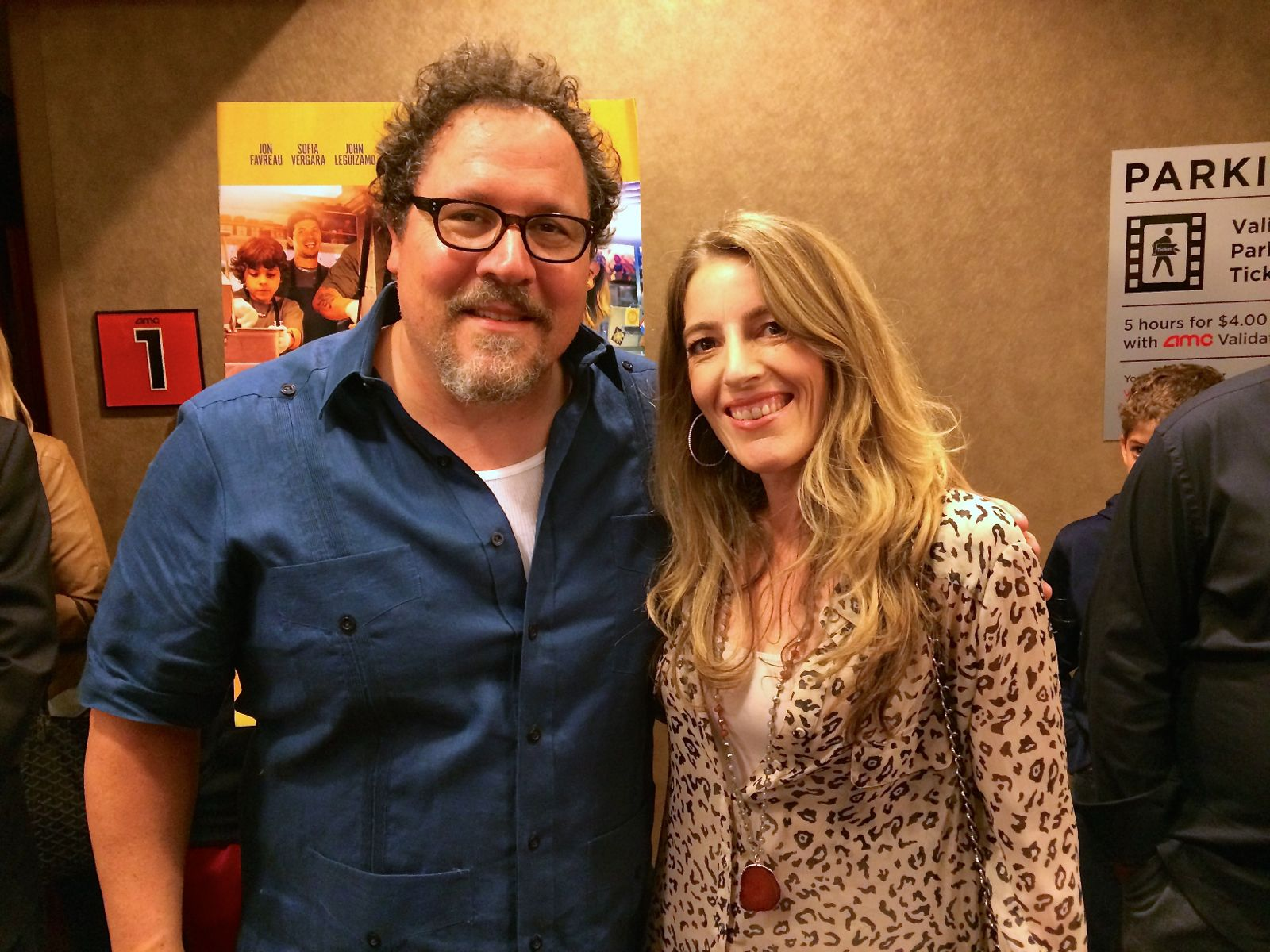 Orna and Jon Favreau