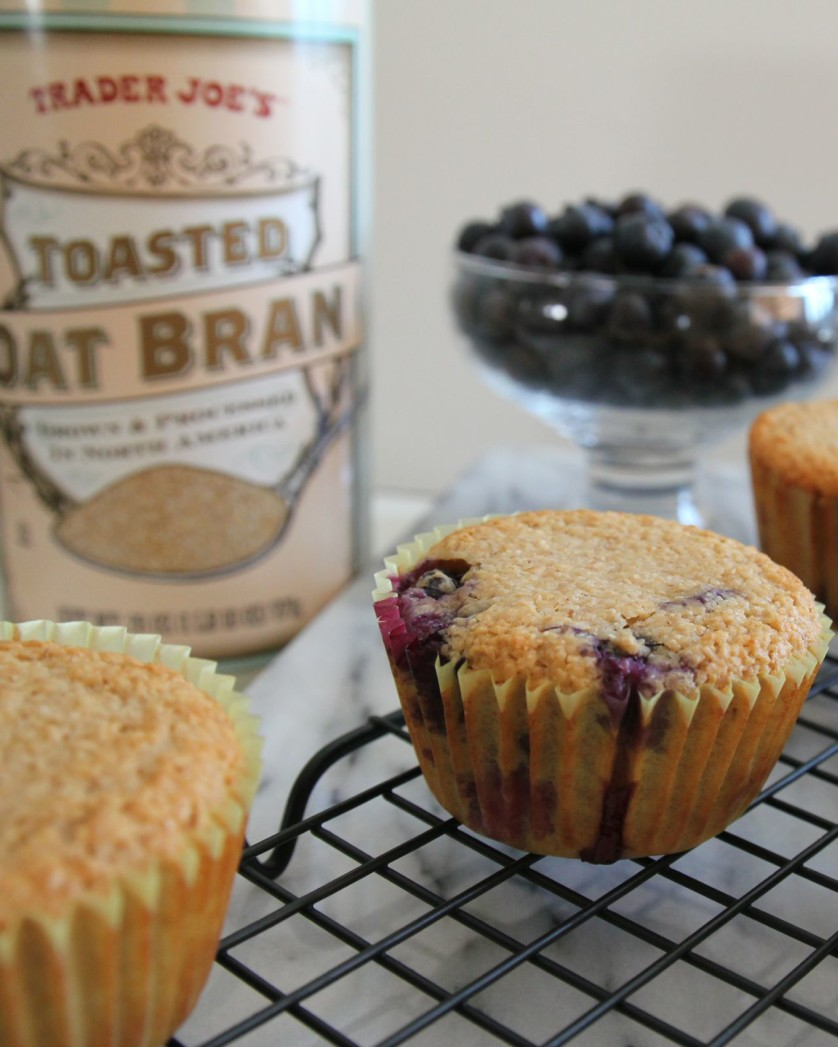 Blueberry Oatbran Muffins