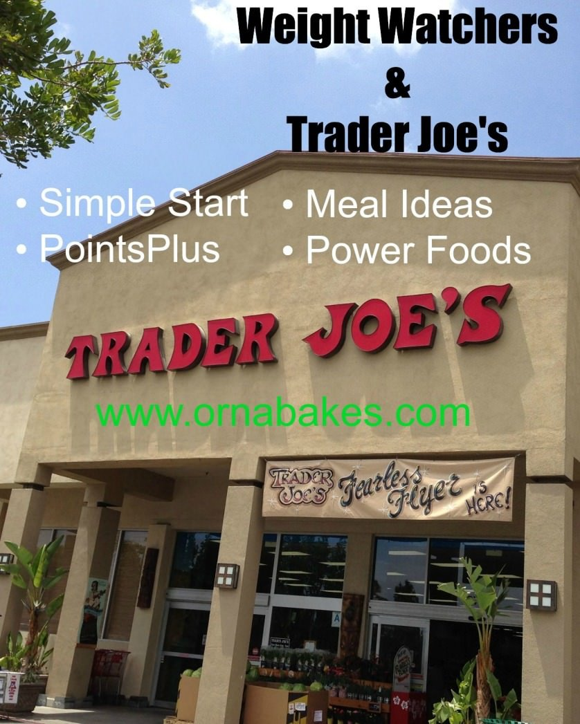 Trader Joes Shopping List with Weight Watchers PointsPlus and Power Foods - OrnaBakes
